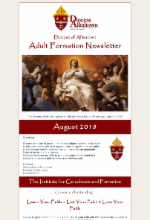 August 2018 Adult Formation Newsletter
