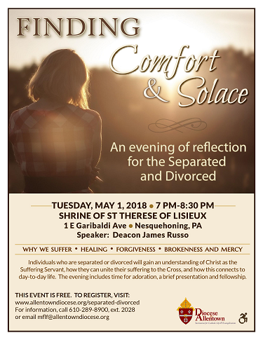 Finding Comfort and Solace Flyer (PDF)