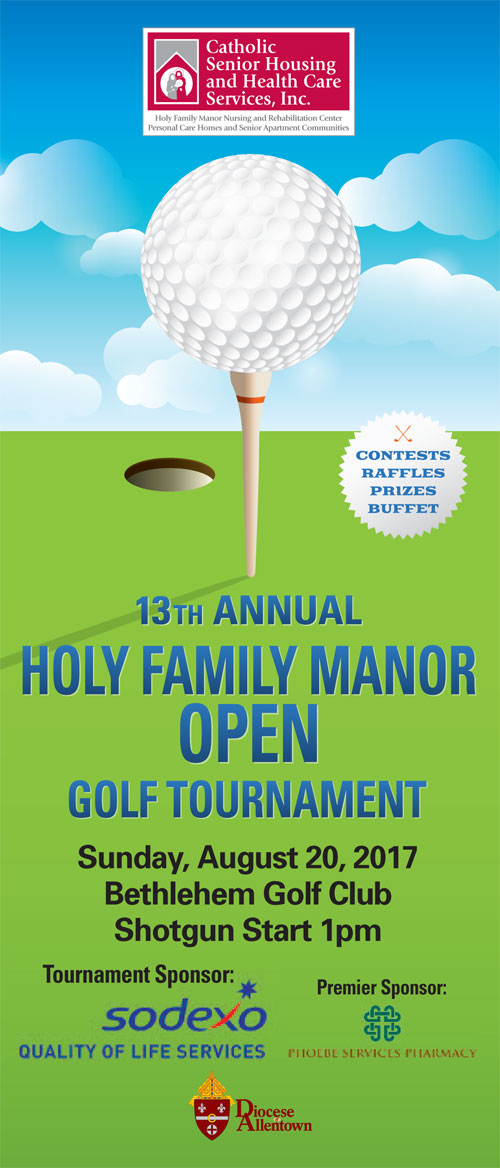 Holy Family Manor Golf Tournament