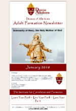 January 2018 Adult Formation Newsletter
