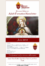 June 2018 Adult Formation Newsletter