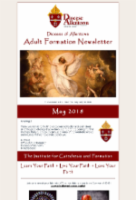 May 2018 Adult Formation Newsletter