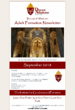 September 2018 Adult Formation Newsletter