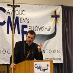 Keynote presenter Fr. Wade Menezes CPM  speaks at Spirit 2015