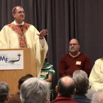 Bishop John Barres celebrates Mass at Spirit 2015