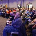 "Approximately 550 men listen to the presentations during Spirit 2016 ""Encounter Mercy and Truth"" at DeSales University, Center Valley."