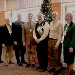 Conference Planning Committee – Robert Olney, Tom Gunkel, Deacon Mike Doncsecz, Christopher Flaherty, Deacon Tony Campanell, Neil Swarmer and Mary Fran Hartigan, Secretary of Catholic Life and Evangelization