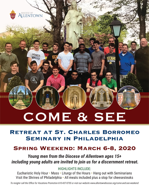 Come and See Retreat Spring 2020