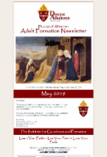 May 2019 Adult Formation Newsletter