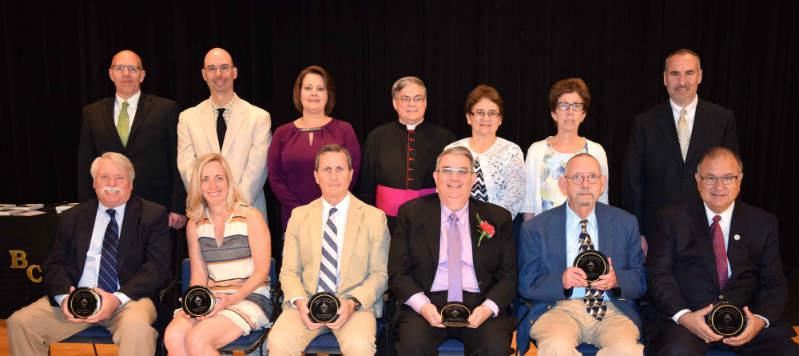Bishop's Catholic Scholar Society Awards Ceremony honors