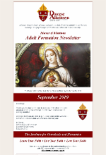 September Adult Formation 2019 Newsletter