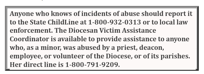 Youth Protection | Roman Catholic Diocese of Allentown