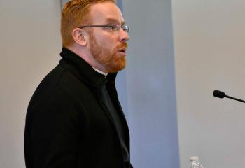 Father Mark Searles, director of the diocesan Office for Vocation Promotion, talks about his vocation to the priesthood and the vocation to be good fathers, brothers and sons.
