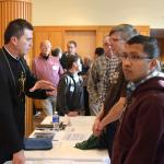 Keynote presenter Fr. Wade Menezes, CPM speaks to the men at Spirit 2015