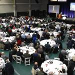 """Standing Firm in Our Faith,"" this year's Diocese of Allentown men's conference. (Photos by John Simitz)"